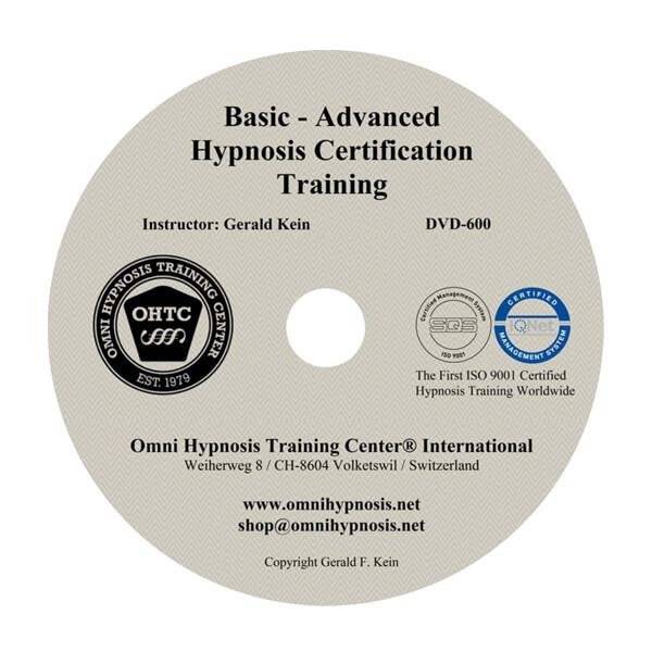 DL600 - Basic-Advanced Hypnosis Certification Training ...