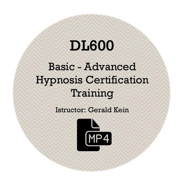 DL600 – Basic-Advanced Hypnosis Certification Training – OMNIHYPNOSIS